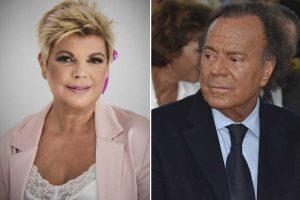 El mal rato de Terelu Campos junto a Julio Iglesias