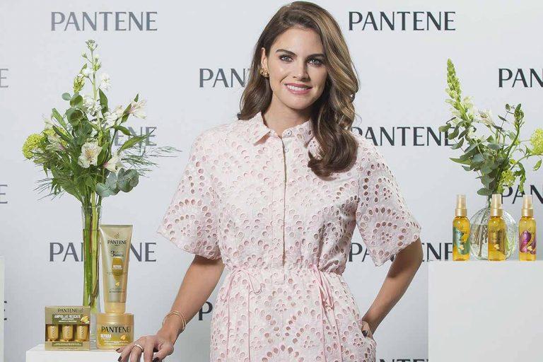 Amaia Salamanca lleva el primer gran vestido de la primavera