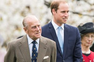 El príncipe Guillermo aclara el verdadero estado de salud de su abuelo