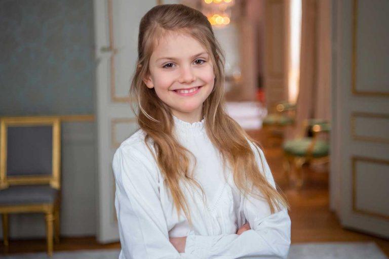 Estelle de Suecia cumple 9 años y ¡cómo ha crecido!
