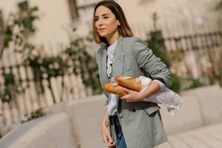 Tamara Falcó compra el pan con el look más chic (muy fácil de copiar)