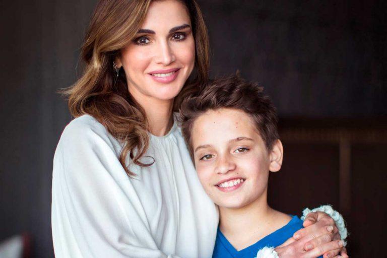 El príncipe Hashem se hace mayor: así ha cambiado el niño de mamá de Rania de Jordania