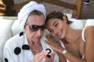 El emotivo mensaje de despedida de Rocío Crusset a su abuela