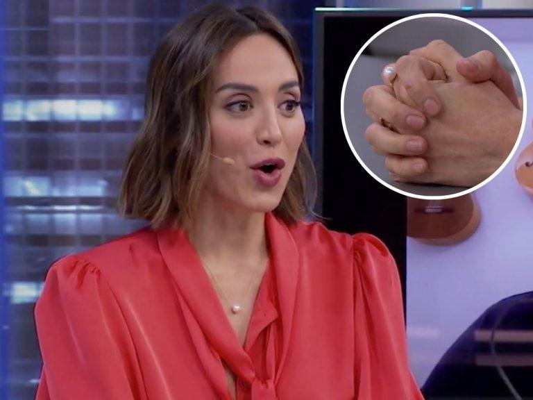 Tamara Falcó aclara el origen del anillo «de compromiso» que lanzó en 'El Hormiguero'