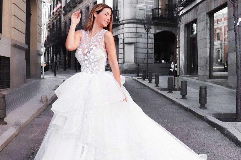 La propuesta de Tamara Gorro a su marido, Ezequiel Garay, con una foto vestida de novia