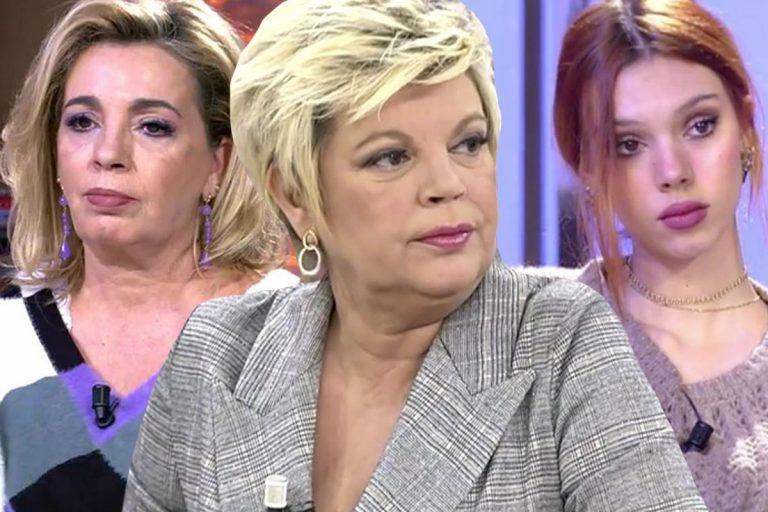 Terelu Campos se aparta del conflicto entre Alejandra Rubio y Carmen Borrego