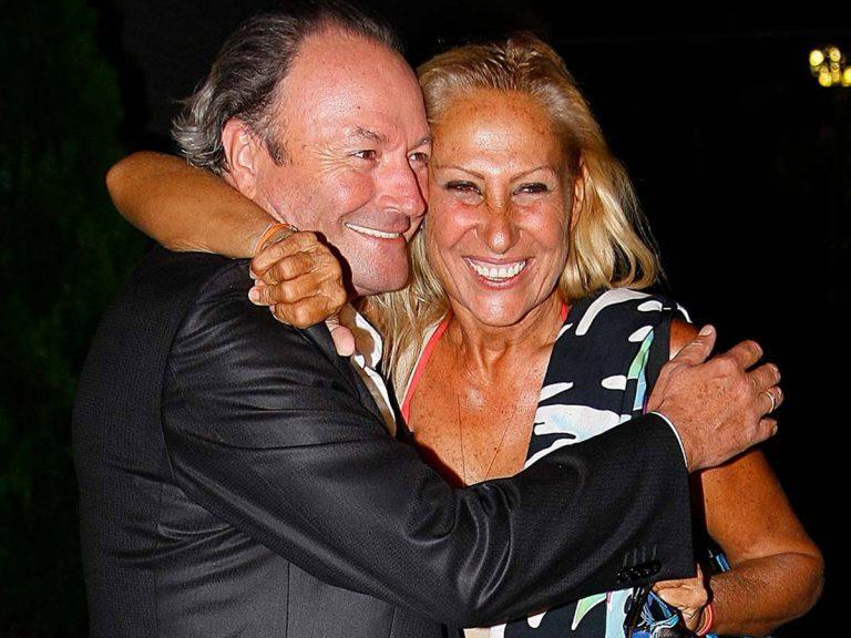 """El tonteo de Rosa Benito y Amador Mohedano en directo: """"Estos dos vuelven"""""""