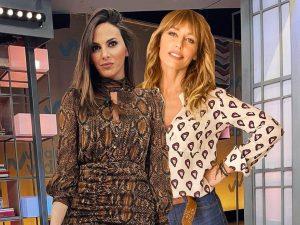 Irene Rosales y Emma García apuestan por el leopardo para sus looks en 'Viva la vida'