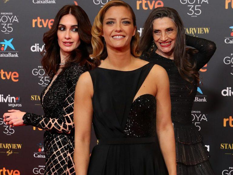Algunos errores y muchos aciertos en la alfombra roja de los Premios Goya 2021