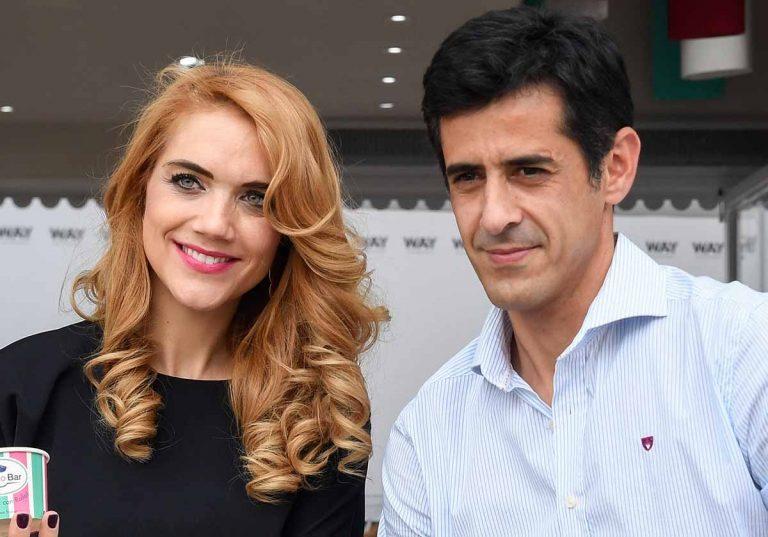 Víctor Janeiro y Beatriz Trapote, padres de su tercera hija