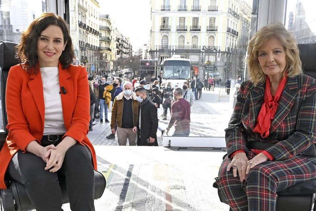 María Teresa Campos Isabel Díaz Ayuso