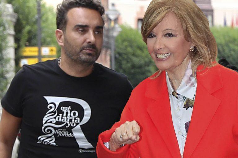 María Teresa Campos sale en defensa de Fidel Albiac tras el documental de Rocío Carrasco