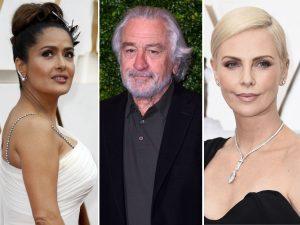 Robert de Niro, Charlize Theron y Salma Hayek se darán cita en los Premios Goya 2021