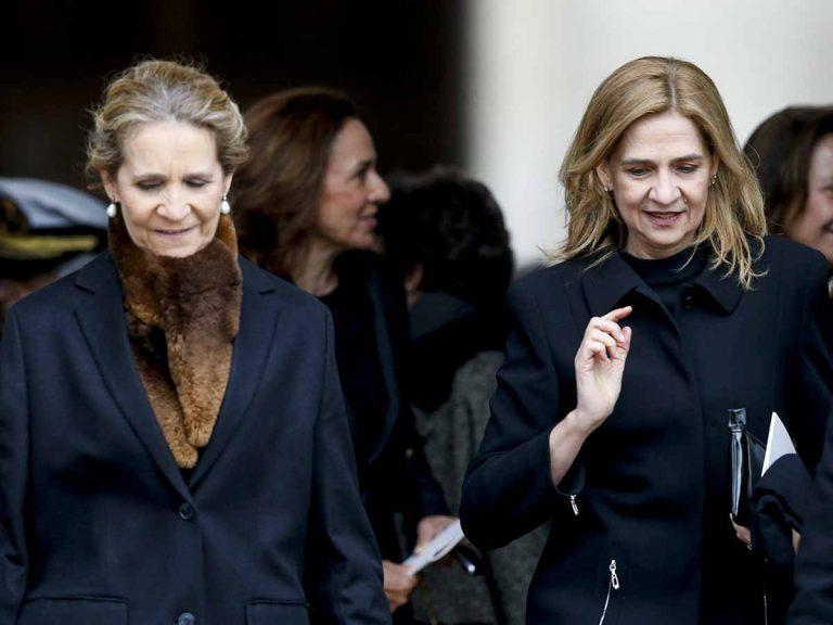 Polémica al saber que la Infanta Cristina y la infanta Elena se han vacunado del Covid en Abu Dhabi: la respuesta de Zarzuela
