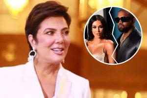 Kris Jenner rompe su silencio sobre el divorcio entre Kim Kardashian y Kanye West