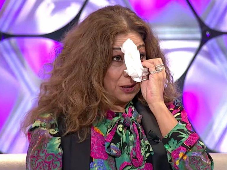 Lolita rompe en lágrimas al escuchar un mensaje inédito de su madre, Lola Flores