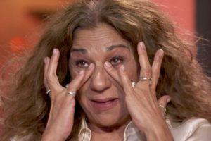 Las lágrimas de Lolita al recordar el momento más emocionante de su vida