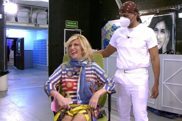 Lydia Lozano regresa a 'Sálvame' tras su operación de cervicales