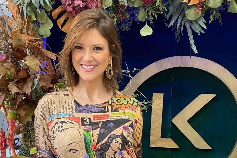 María Jesús Ruiz, ahora asesora de moda en una tienda de ropa