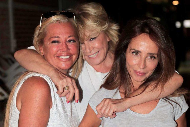 Anabel Pantoja, Belén Esteban y Kiko Hernández se vuelcan con Mila Ximénez tras su ingreso