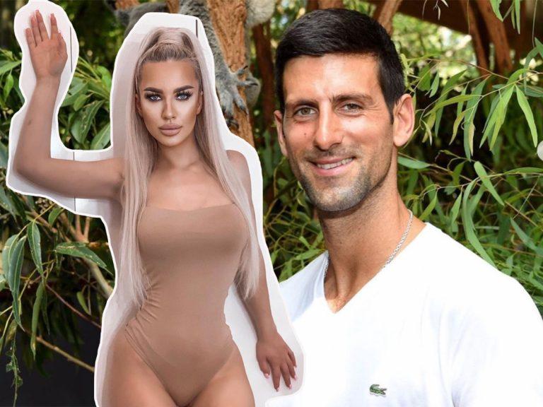 Una modelo serbia, contratada para seducir a Novak Djokovic, grabarle y romper su matrimonio