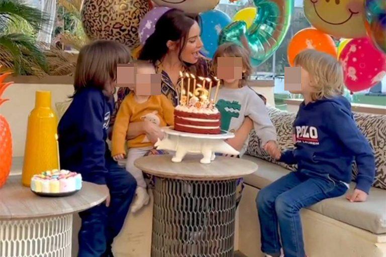 Pilar Rubio celebra el cumpleaños de uno de sus hijos con una gran ausencia