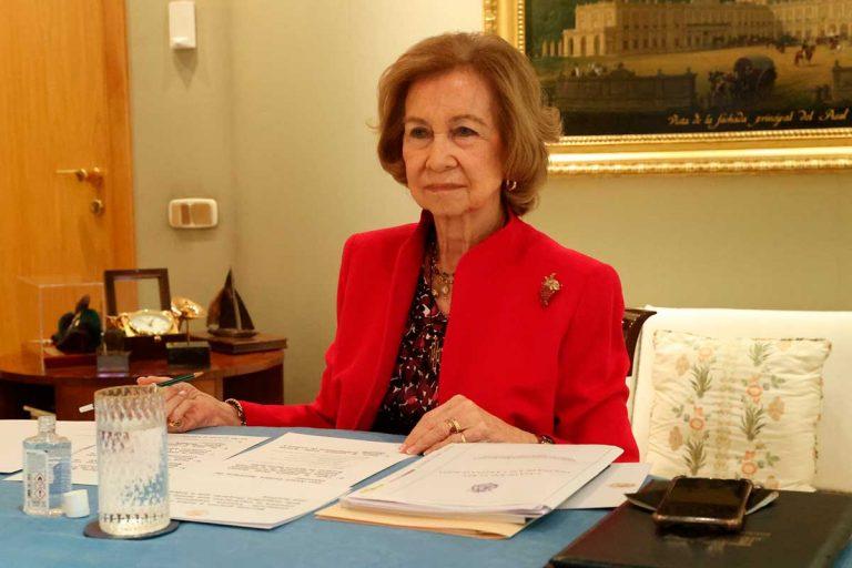 El despacho de la Reina Sofía: todos los detalles que han pasado inadvertidos