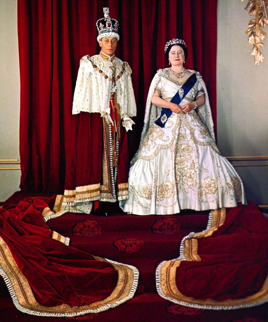 Reina Madre, Jorge VI