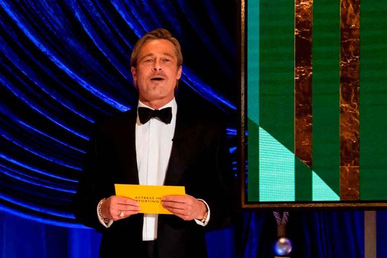 Oscar 2021: Brad Pitt reaparece tras sus fotos en silla de ruedas y nos deja este momentazo