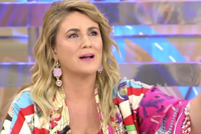 El cabreo de Carlota Corredera al oír la opinión de Kiko Matamoros sobre las palabras de Rocío Carrasco