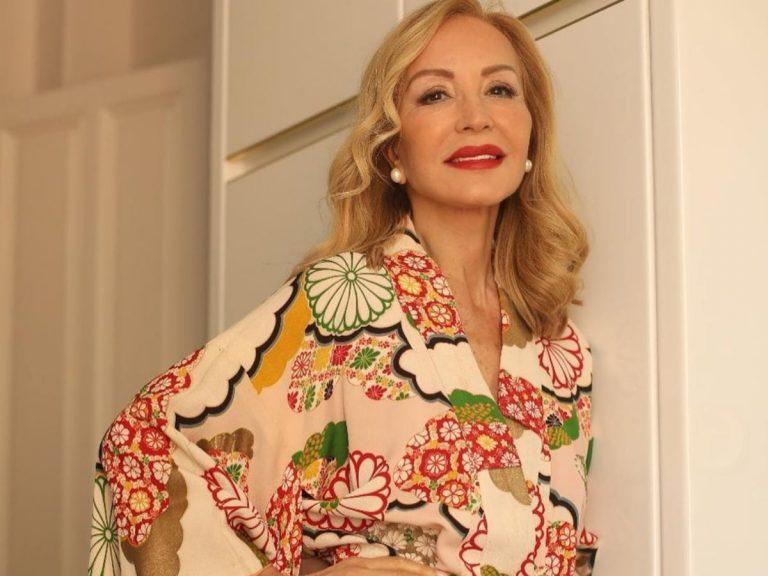 El vestido más ideal de Carmen Lomana es «de mercadillo»