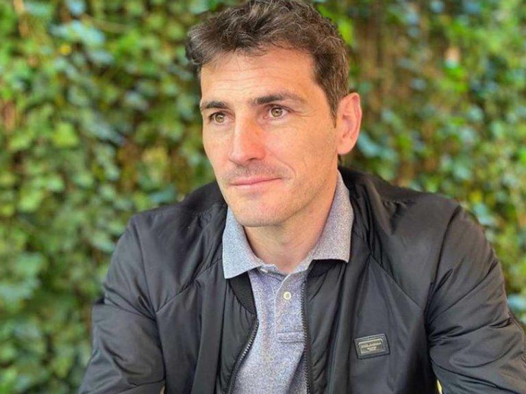 Iker Casillas, visto saliendo de su nueva y lujosa casa a las afueras de Madrid