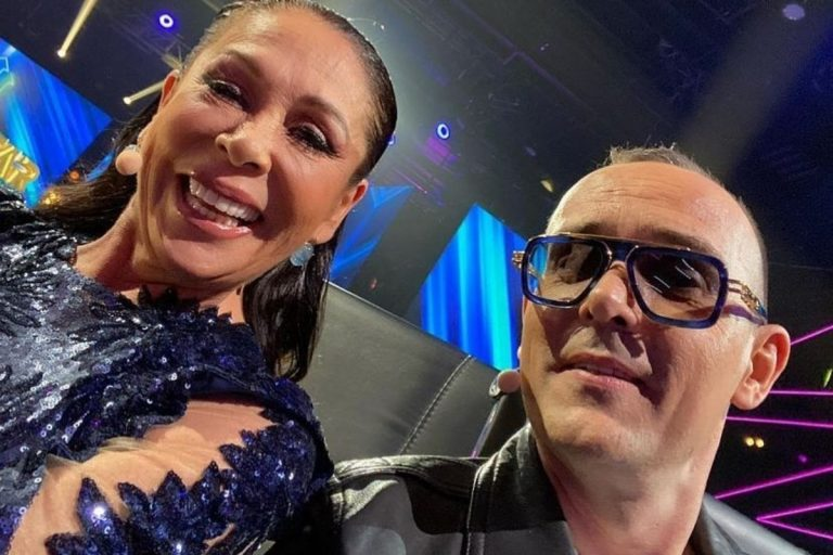 El enfado de Isabel Pantoja con Risto Mejide durante las grabaciones de 'Top Star'