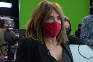 María Patiño sufre una crisis de ansiedad en 'Sálvame' tras un encontronazo con Miguel Frigenti