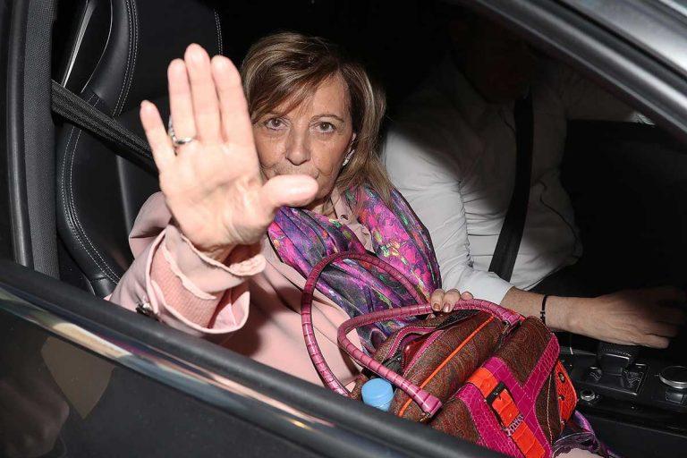 María Teresa Campos, con un pie fuera de la televisión, según un estudio