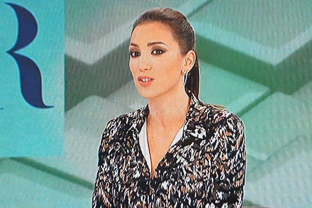 Patricia Pardo plató de televisión