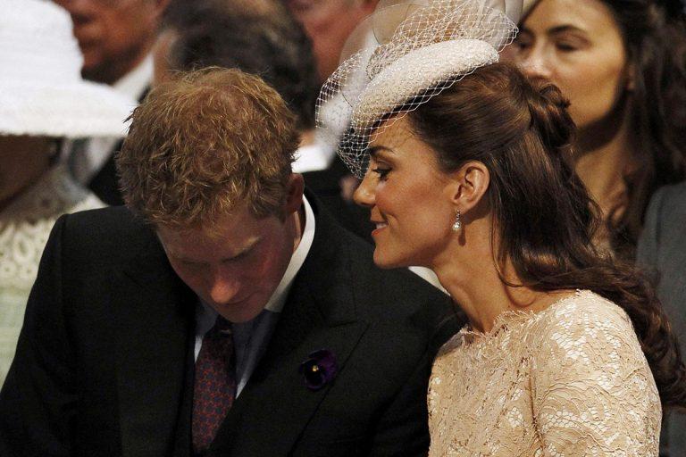 Las imágenes que demuestran que a Kate se le caía la baba con su cuñado Harry (ahora media con Guillermo)