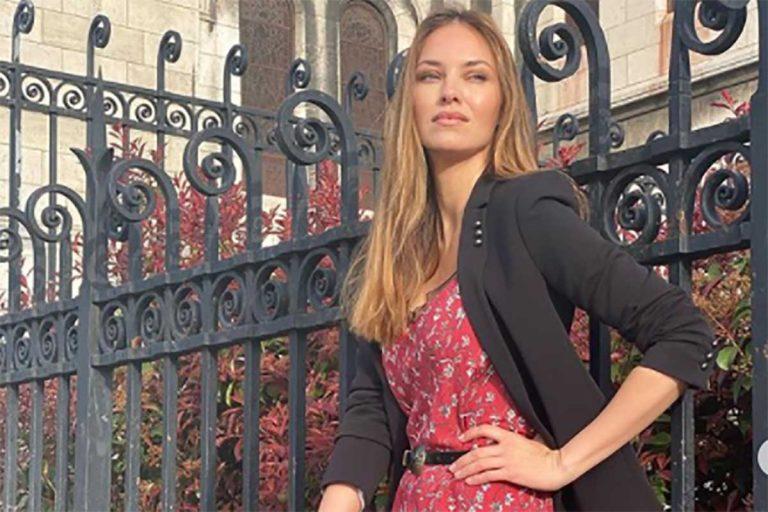 Helen Lindes «nos lleva al huerto» con la blusa más bonita