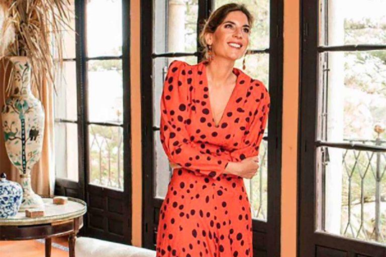 Esta temporada debes tener un vestido de lunares como Lourdes Montes