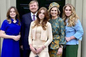 Cuando las hijas de Máxima de Holanda parecen mayores que ella en su nuevo posado familiar