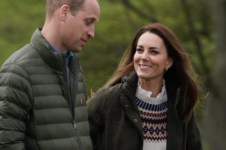 Guillermo y Kate, sus gestos enamorados en una granja a punto de su 10º aniversario de boda