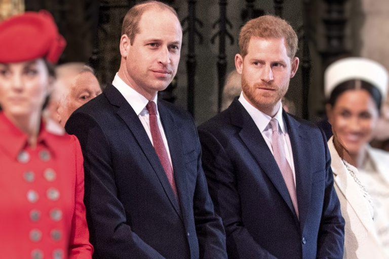 La imagen imposible: Guillermo y Harry nunca estarán juntos en el funeral de su abuelo