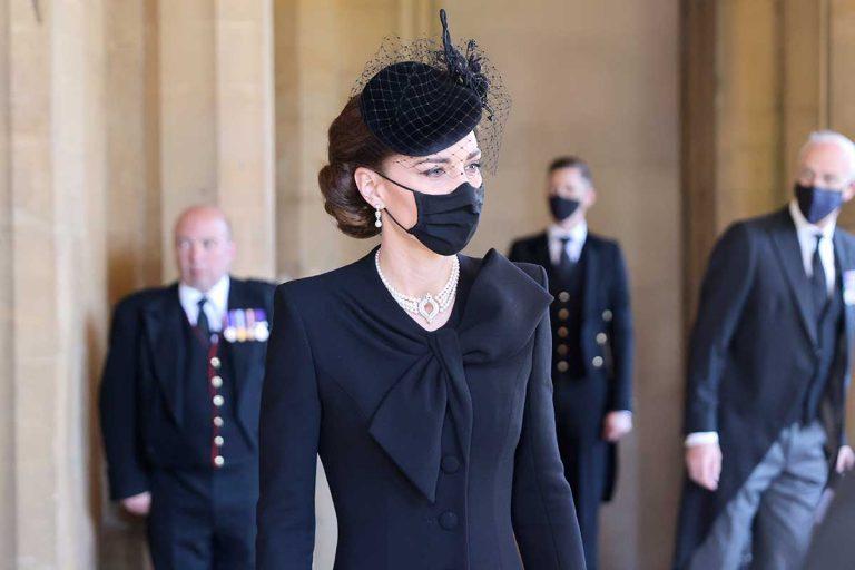 Kate Middleton, la más exquisita de las damas Windsor en la despedida al duque