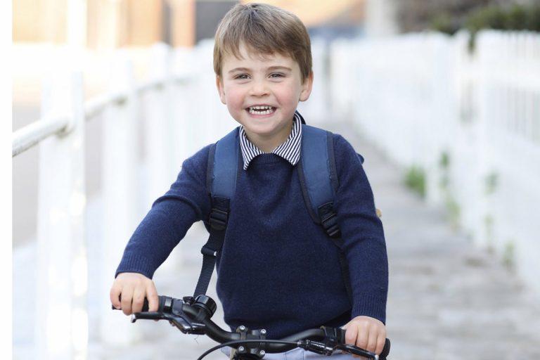 Louis de Cambridge cumple tres años como el principito más pícaro