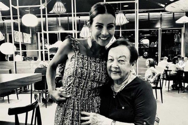Virginia Troconis llora la muerte de su abuela: «Se ha ido un pedacito de mí»