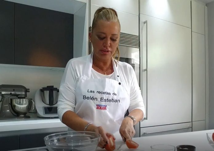 Receta de Gazpacho, por Belén Esteban