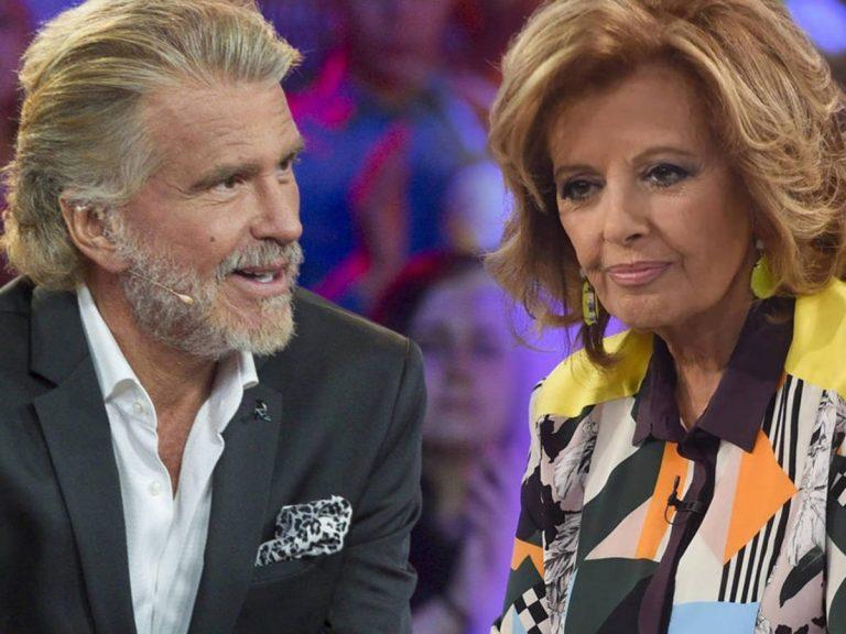 """Bigote Arrocet, """"alucinado"""" con el empeño de María Teresa Campos de hablar siempre de él"""