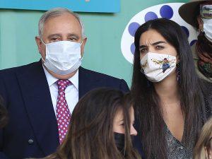 Bárbara Mirjan se va con su cuñado Fernando a la hípica horas antes de la salida de Cayetano Martínez de Irujo del hospital