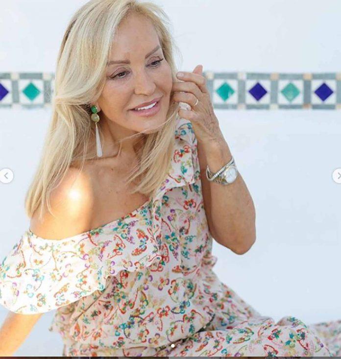 Carmen Lomana look
