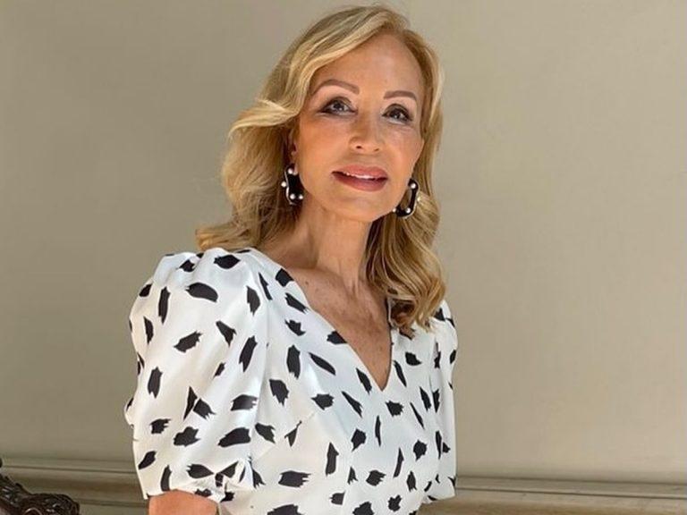 El vestido más fácil y elegante lo tiene Carmen Lomana
